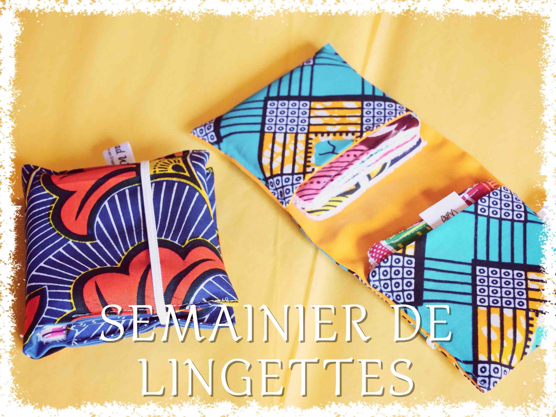 Semainier de Lingettes