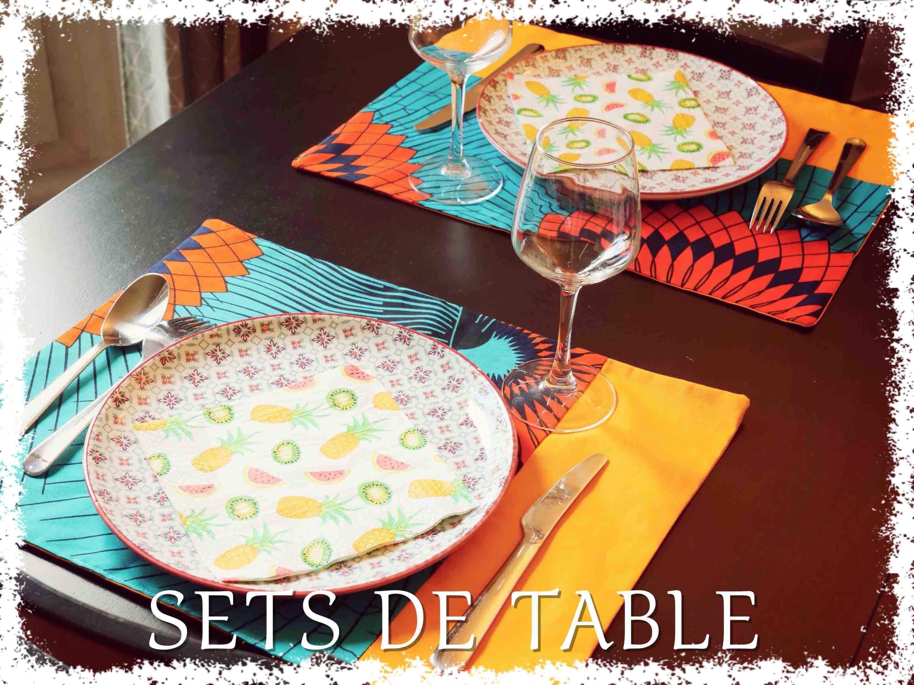Duo de Sets de Table